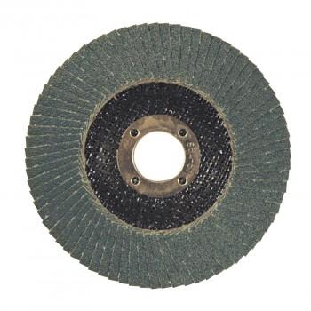 Disque lamelle zirconium Ø 125 plat Gr 40