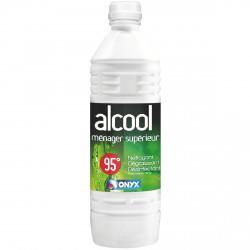 Alcool supérieur ménager 95° Bidon 1 L