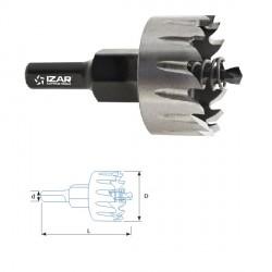 Scie trepan réaffutable Hss Ø 22 mm