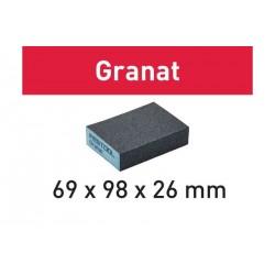 Éponge de ponçage 69x98x26 Granat FESTOOL
