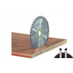 Lame scie circulaire universelle Ø 225 mm - Ep. 2.6 - Z. 48 - Al. 30 FESTOOL 488289