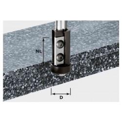 Fraise à affleurer plaquettes de rechange HW Q 12mm HW S12 D21/30WM FESTOOL 4911120
