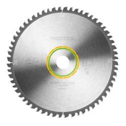 Lame scie circulaire universelle Ø 260 mm - Ep. 2.5 - Z. 60 - Al. 30 Festool 494604
