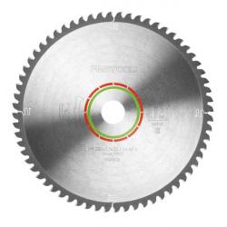 Lame scie circulaire spéciale Ø 260 mm - Ep. 2.5 - Z. 64 - Al. 30 FESTOOL 494606