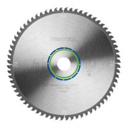 Lame scie circulaire alu Ø 260 mm - Ep. 2.4 - Z. 68 - Al. 30 FESTOOL 494607