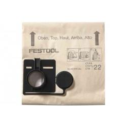 Sac filtre FIS-CT 22/20 FESTOOL 494631