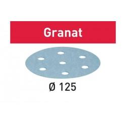 Abrasifs STF D125/8 Granat FESTOOL