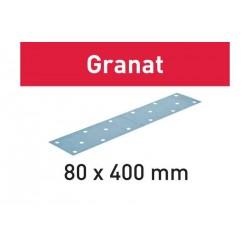 Abrasifs STF 80x400 Granat FESTOOL