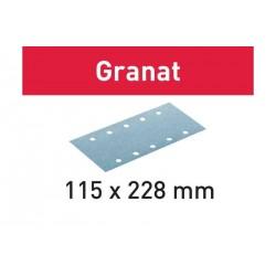 Abrasifs STF 115x228 Granat FESTOOL
