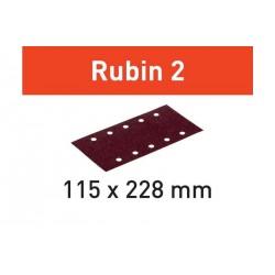 Abrasifs STF 115x228 Rubin 2 FESTOOL