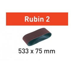 Bande abrasive L533X75 Rubin 2 FESTOOL