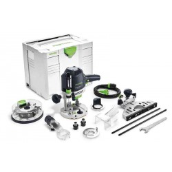Défonceuse OF 1400 EBQ-Plus + Box-OF-S 8/10x HW Festool 574398