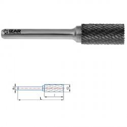 Fraise lime rotative cylindrique matériaux durs Ø 6.3 x 3 mm