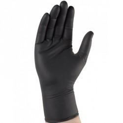 Boîte distributrice de 100 gants nitrile noir