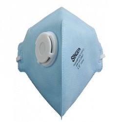 Boîte de 20 masques FFP2D pli vertical à valve