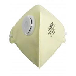 Boîte de 20 masques FFP3D pli vertical à valve