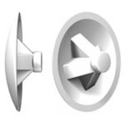 Capuchon blanc Ral 9010 PZ 1 FISCHER BTE 200 (Prix à la boîte)