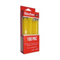 Chevilles multi-usages PC 6 x 27 FISCHER BTE 100 (Prix à la boîte)