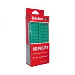 Chevilles multi-usages PC 8 x 34 FISCHER BTE 100 (Prix à la boîte)