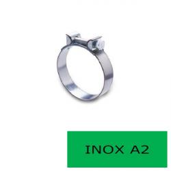 Blister 2 colliers mini inox A2 11-13