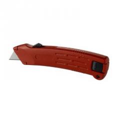 Couteau sécurité zamac auto-rétractable