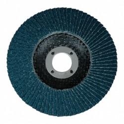 Disque lamelle zirconium Ø 115 plat Gr 40