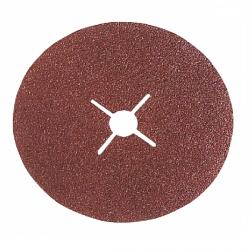 Disque fibre trou central Ø 125 mm corindon (Prix à la pièce)