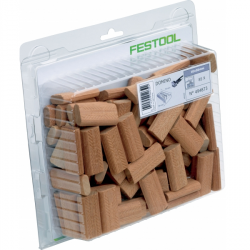 DOMINO en Sipo (sachet plastique) pour DF 500 FESTOOL