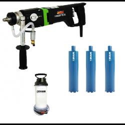 Lot 1 Carotteuse à eau 2200 Watt ETN162/3 DIAM