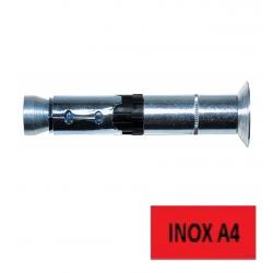 Chevilles lourdes TF Inox A4 FH II 8 x 125 FISCHER BTE 25 (Prix à l'unité)
