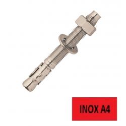 Goujons filetés Inox A4 FXA 10/10x86 FISCHER BTE 50