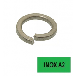 Rondelles Grower DIN 127 B (33,5x55,2x6,0) inox A2 Ø 33 BTE 10