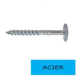 """Vis construction bois HECO-TOPIX TCLarge """"Tx 40"""" 8 x 120 BTE 50 (Prix à la boîte)"""