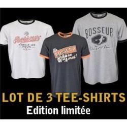 Lot 3 tee-shirts