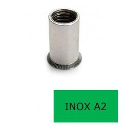 Insert tête fraisée GOFIX INF Inox A2 M6 x 15 BTE 250 (Prix à la boîte)