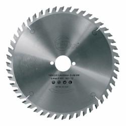 Lame scie circulaire bois  Ø 190 mm - Ep. 2.8 - Z. 48 - Al. 30