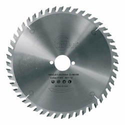 Lame scie circulaire bois  Ø 260 mm - Ep. 2.5 - Z. 60 - Al. 30