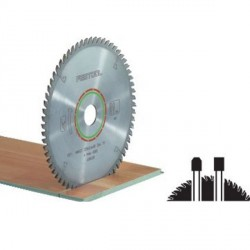 Lame scie circulaire spéciale Ø 160 mm - Ep. 2.2 - Z. 48 - Al. 20 FESTOOL 496308