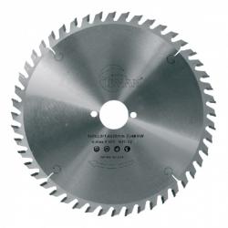 Lame scie circulaire bois Ø 165 mm - Ep. 2.6 - Z. 24 - Al. 20