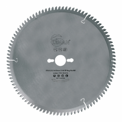 Lame scie circulaire alu/pvc Ø 350 mm - Ep. 3.4/2.8 - Z. 108  - Al. 32