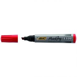 Feutre rouge pointe biseautée 3.7 mm Marking 2300 BIC