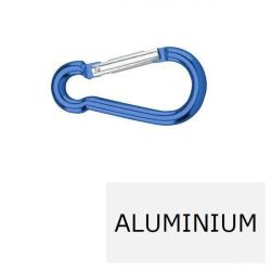Mousqueton à aluminium 8 x 80 (Prix à la pièce)