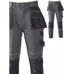 Pantalon multitravaux Gris PORTO