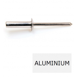 Rivet tête ronde étanche GOSTOP TRS alu-acier 3.2 x 8 BTE 1000 (Prix à la boîte)