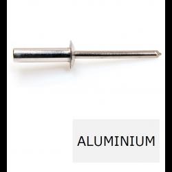 Rivet tête ronde étanche GOSTOP TRS alu-acier 3.2 x 10 BTE 1000 (Prix à la boîte)