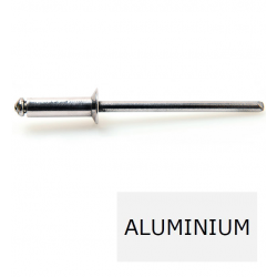 Rivet tête fraisée standard ALX TF alu-acier 3.2 x 8 BTE 1000 (Prix à la boîte)