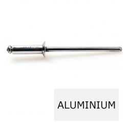 Rivet tête fraisée standard ALX TF alu-acier 4.8 x 12 BTE 500 (Prix à la boîte)
