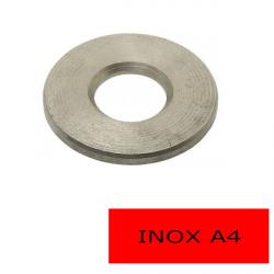 Rondelles plates Inox A4 L Ø 10 BTE 100 (Prix à l'unité)