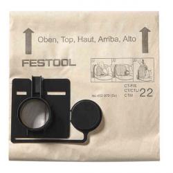 Sac filtre FIS-CT/CTL/CTM 22/5 FESTOOL 452970