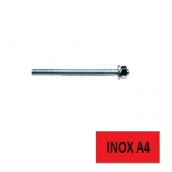 Tige filetée Inox A4 FIS A M 10 x 130 FISCHER BTE 10 (Prix à la boîte)